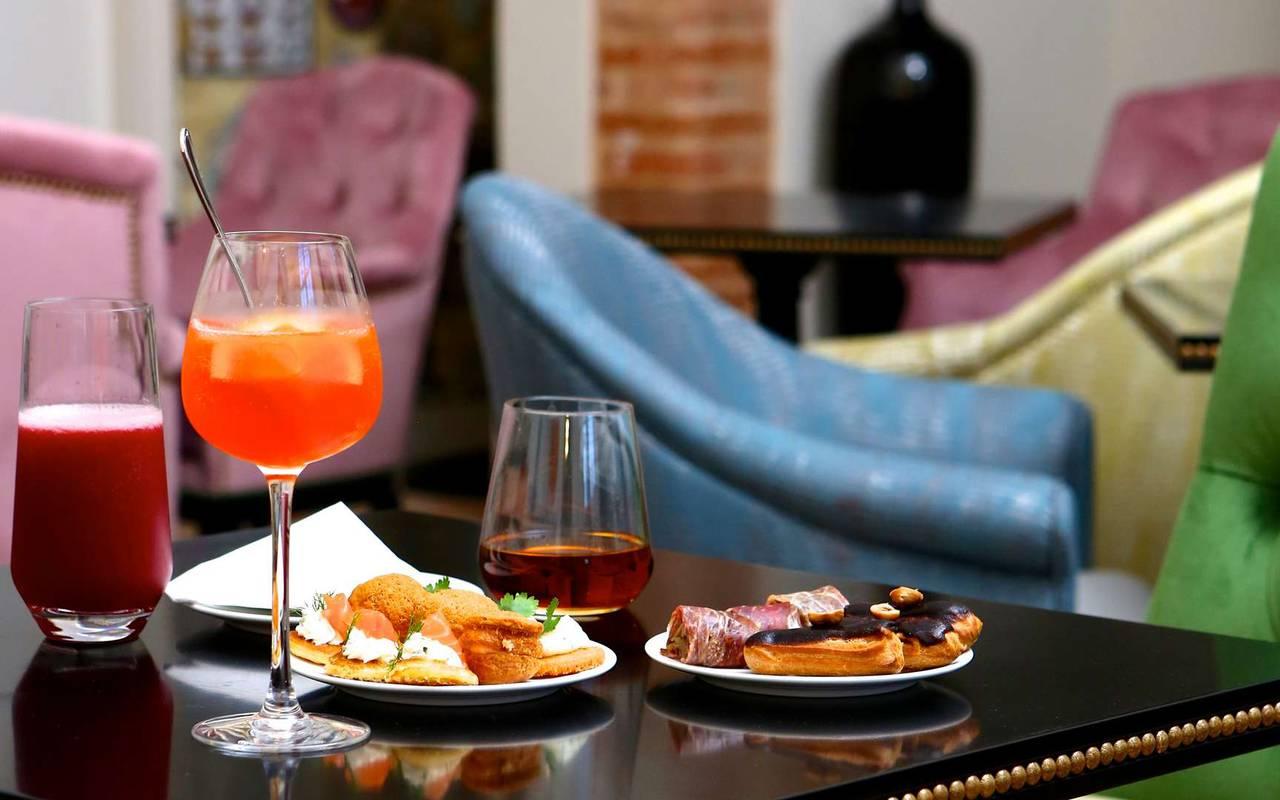 Cocktail du salon du Potager