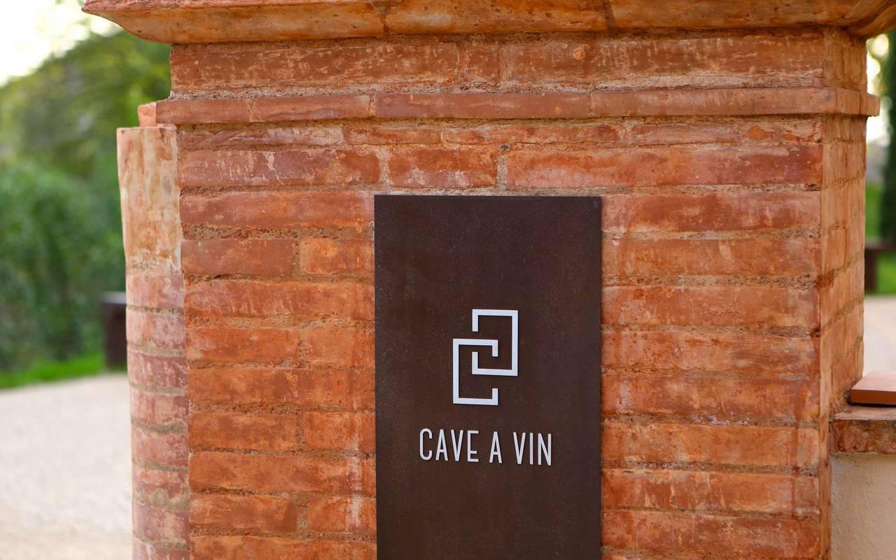 Cave à vin du château de Drudas
