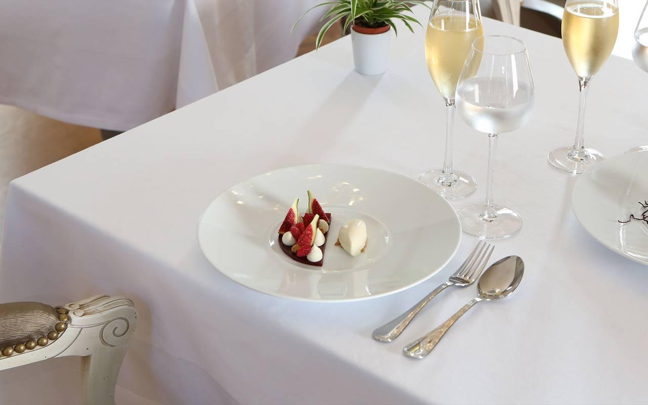 Dessert du restaurant le Verdurier