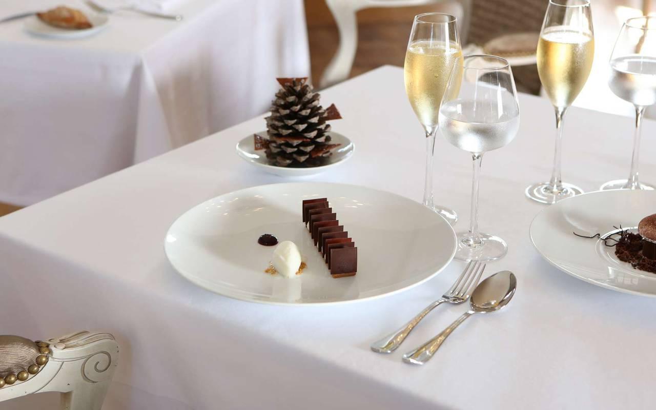 Dessert du restaurant du Verdurier