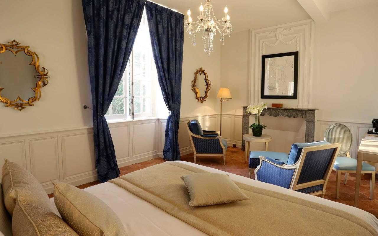 Suite du château hôtel à Toulouse